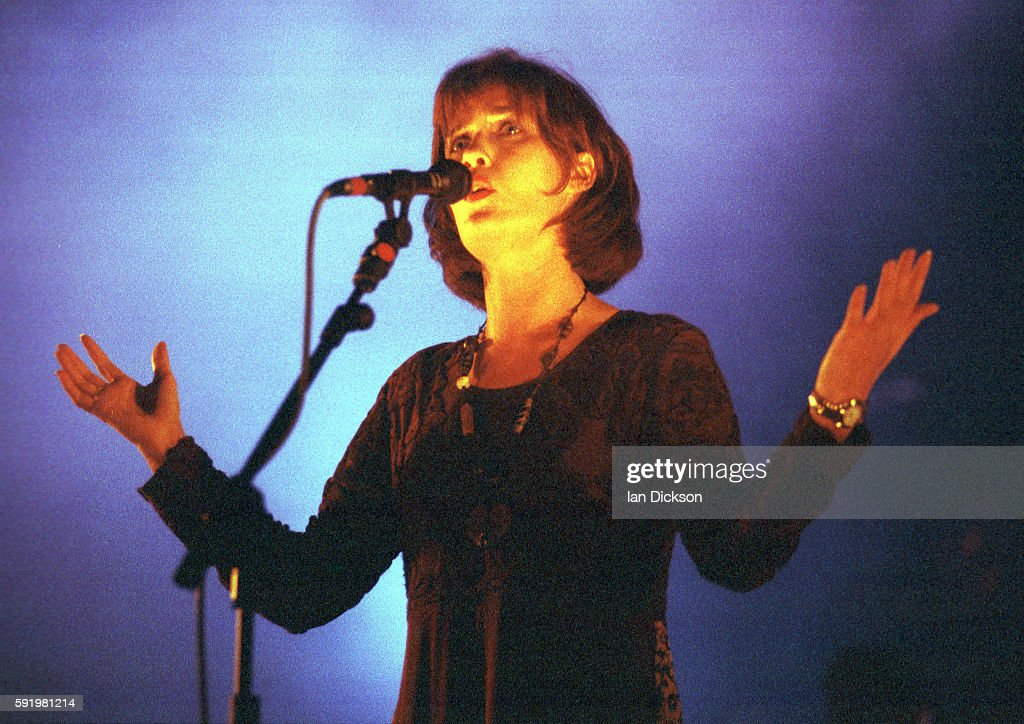 Capercaillie performing on stage at The Forum Kentish Town London 1995