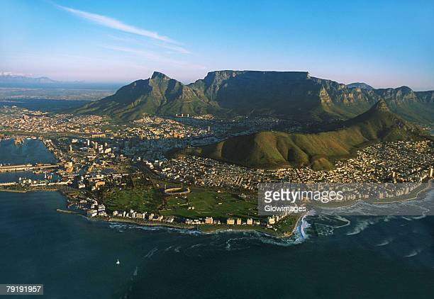 Capetown, Lion's Head and Table Mountain, South Africa