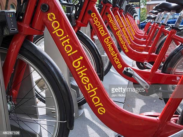 Capital Bike Share in Alexandria