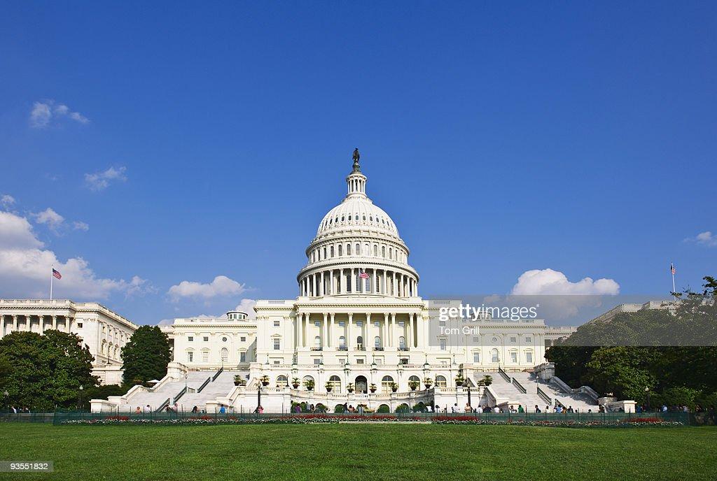 U.S. Capital building : Stock Photo