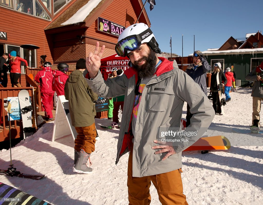 Capital Cities band member Ryan Merchant attends Burton Learn To Ride on January 19, 2013 in Park City, Utah.