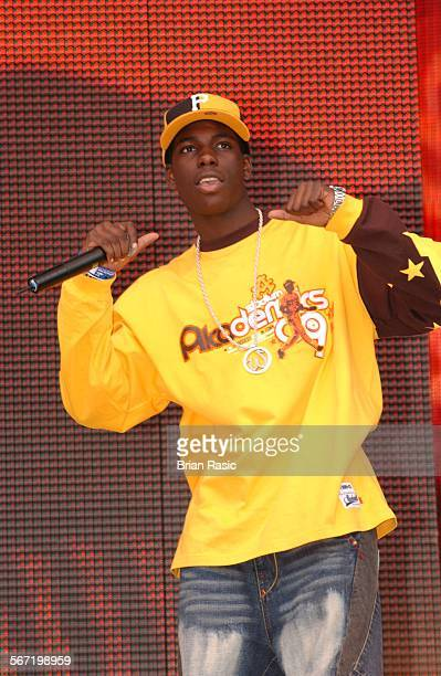 Capital Fm Party In The Park For The Princes Trust In London Britain 05 Jul 2003 Blazin Squad Rocky B