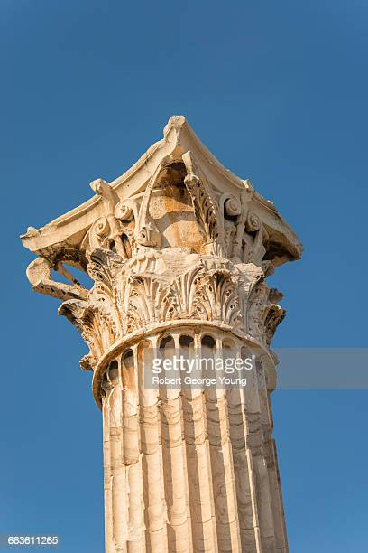 Temple Of Olympian Zeus Athens Stock Photos and Pictures ...