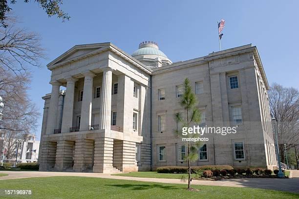 Capitolio del Estado de Carolina del Norte en el día 1