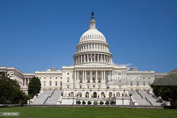 Capitol Building in Washington DC - No People