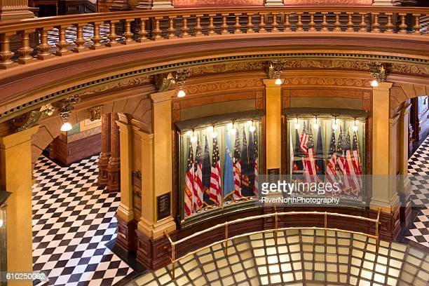 Capitol Building Interior, Lansing Michigan