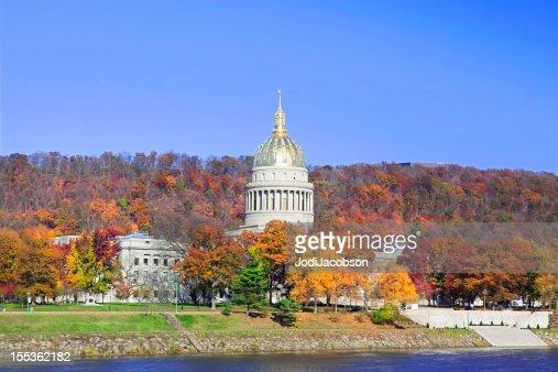 Capitol Building West Virginia in Autumn