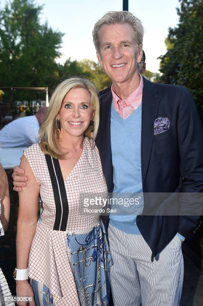 Capitol File Publisher Meredith Merrill and Matthew Modine attend the Capitol File 2017 WHCD Welcome Reception at the British Ambassador's Residence...