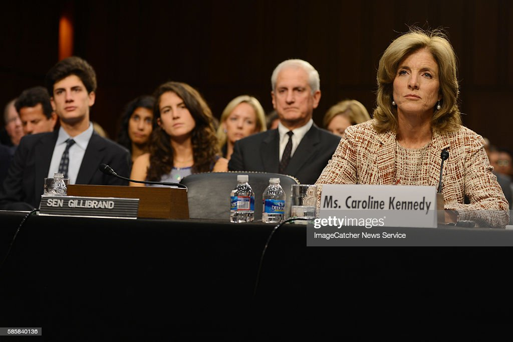 9/19/13 Capitol Hill Washington DC Caroline Kennedy goes before the US Senate Foreign Relations Committee for questioning as they determine if she...