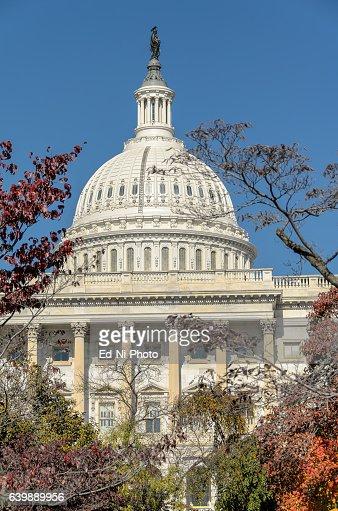 US Capitol, home of US Congress; closeup : Foto stock