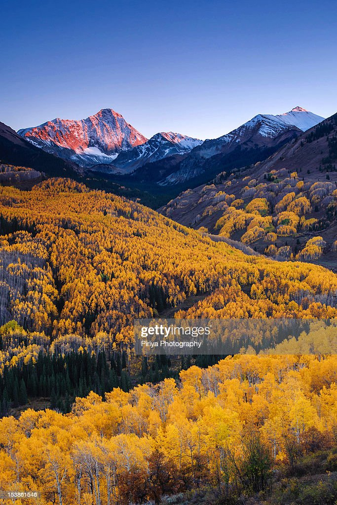 Capitol Peak with fall colors