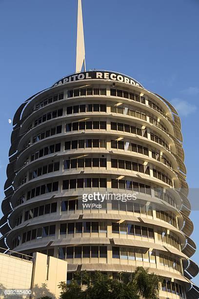 Capitol records Building Hollywood California USA