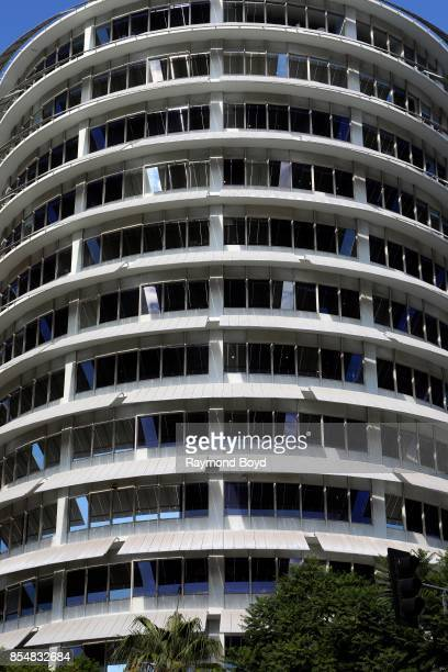 Capitol Records building in Los Angeles California on September 11 2017