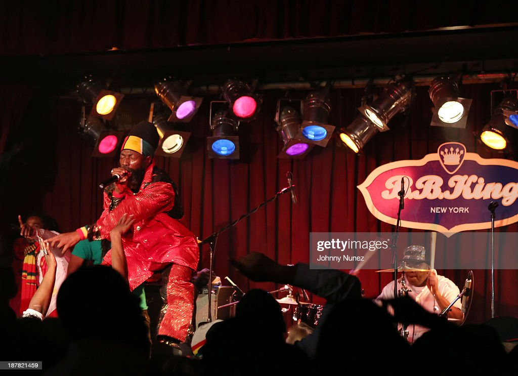 Capleton performs at B.B. King Blues Club & Grill on November 12, 2013 in New York City.