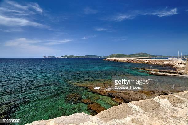 Capo Caccia from Alghero Sardinia Italy