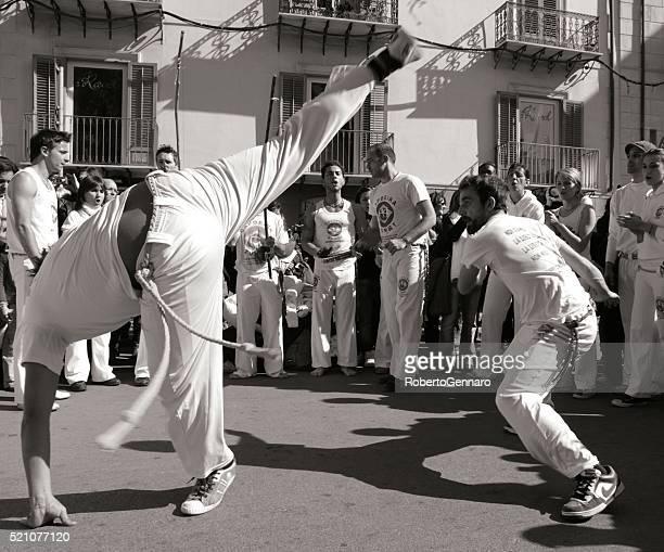 Capoeira High Kick