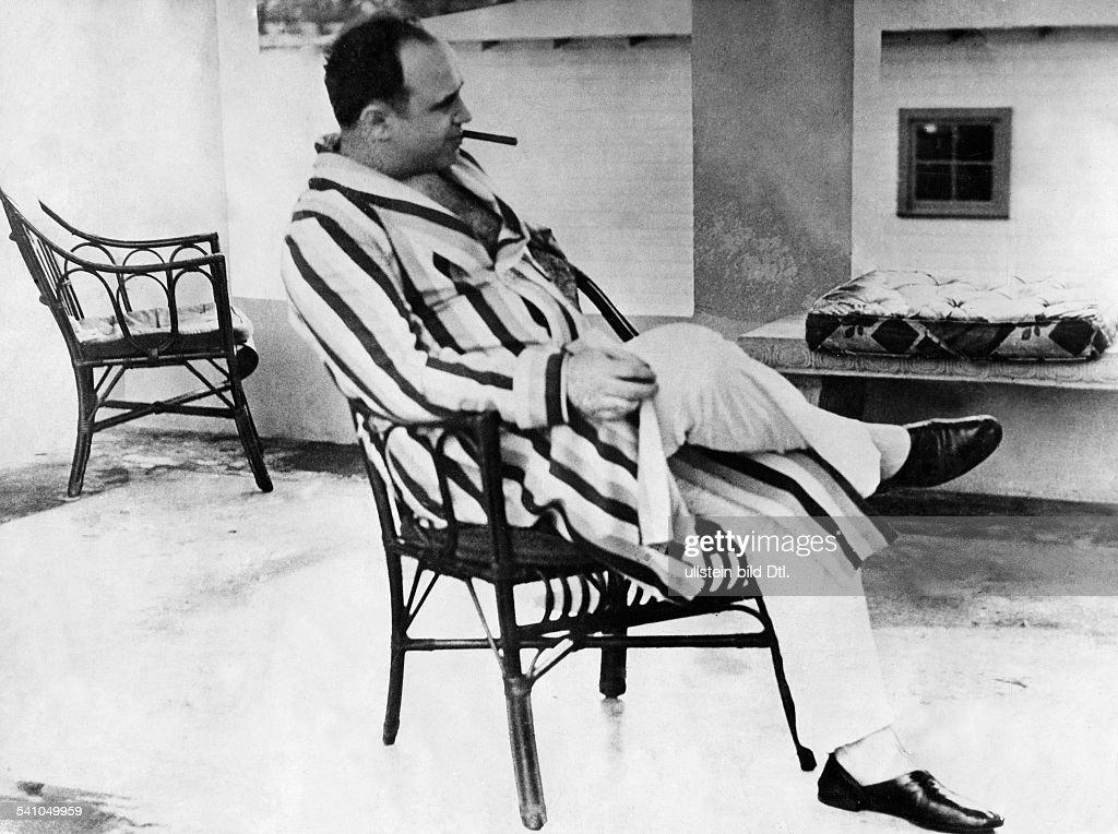 Capone, Al *1899-1947+Gangster, USAPorträt - 1931