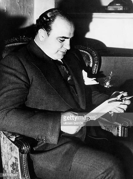 Capone Al Gangster USA
