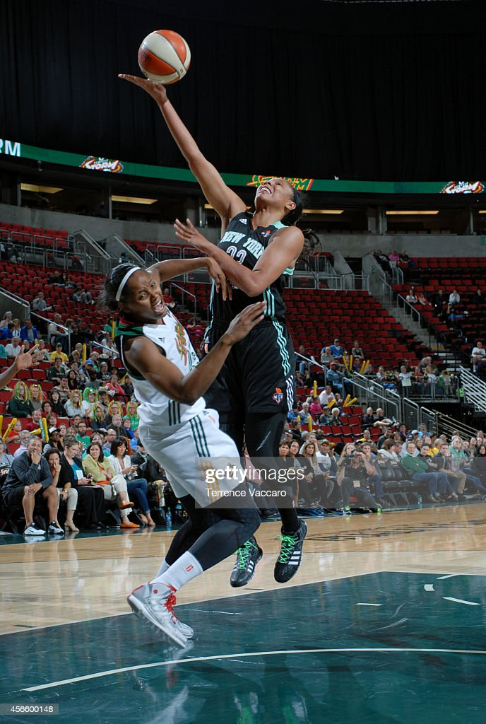 <a gi-track='captionPersonalityLinkClicked' href=/galleries/search?phrase=Cappie+Pondexter&family=editorial&specificpeople=544600 ng-click='$event.stopPropagation()'>Cappie Pondexter</a> #23 of the New York Liberty shoots against the Seattle Storm on July 24,2014 at Key Arena in Seattle, Washington.
