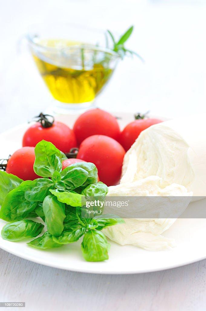 Caprese Salad Ingredients : Stock Photo