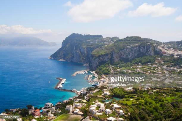 Capri coast view