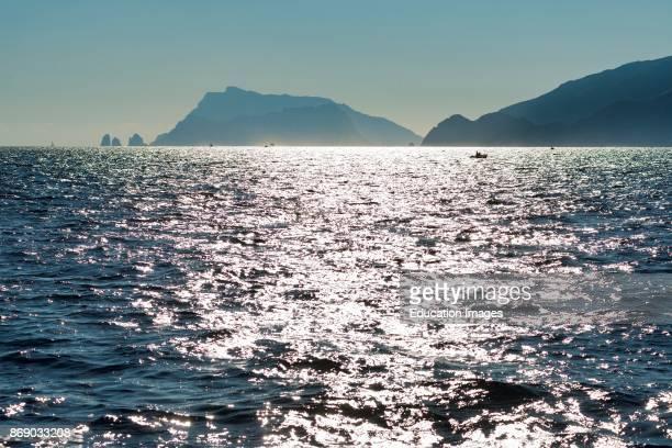 Capri Faraglioni And Punta Campanella Campania Italy