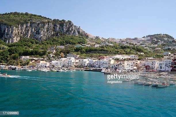 Capri Island Landscape, Marina Grande.