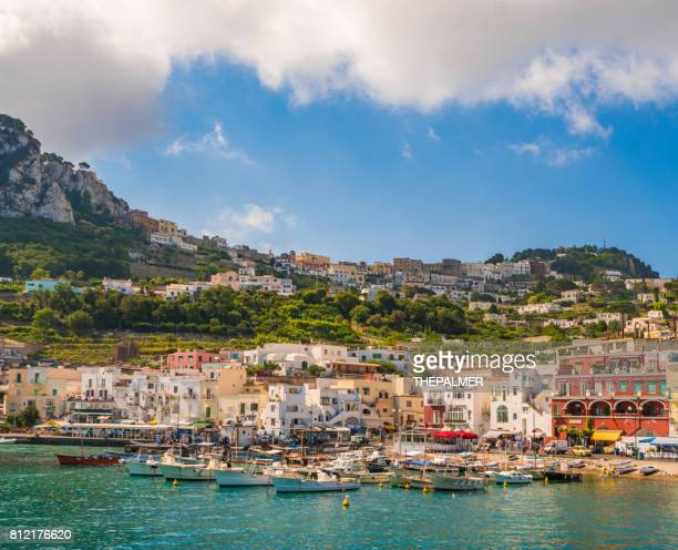 Capri marina island Italy