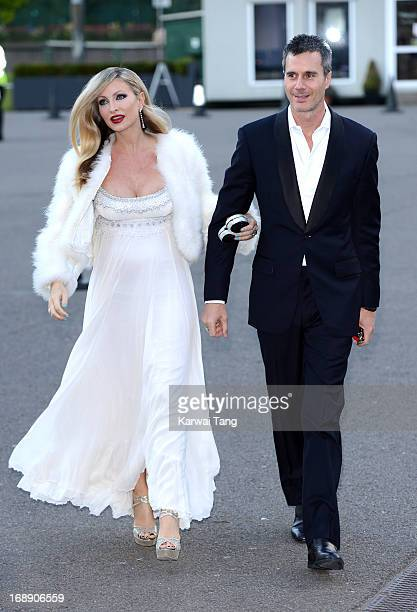 Caprice and Ty Comfort attend The Butterfly Ball A Sensory Experience in aid of the Caudwell Children's charity at Battersea Evolution on May 16 2013...
