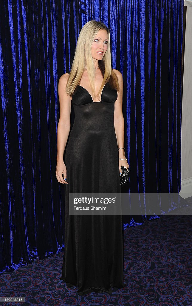 Caprice attends the Retail Trust London Ball at Grosvenor House, on January 28, 2013 in London, England.