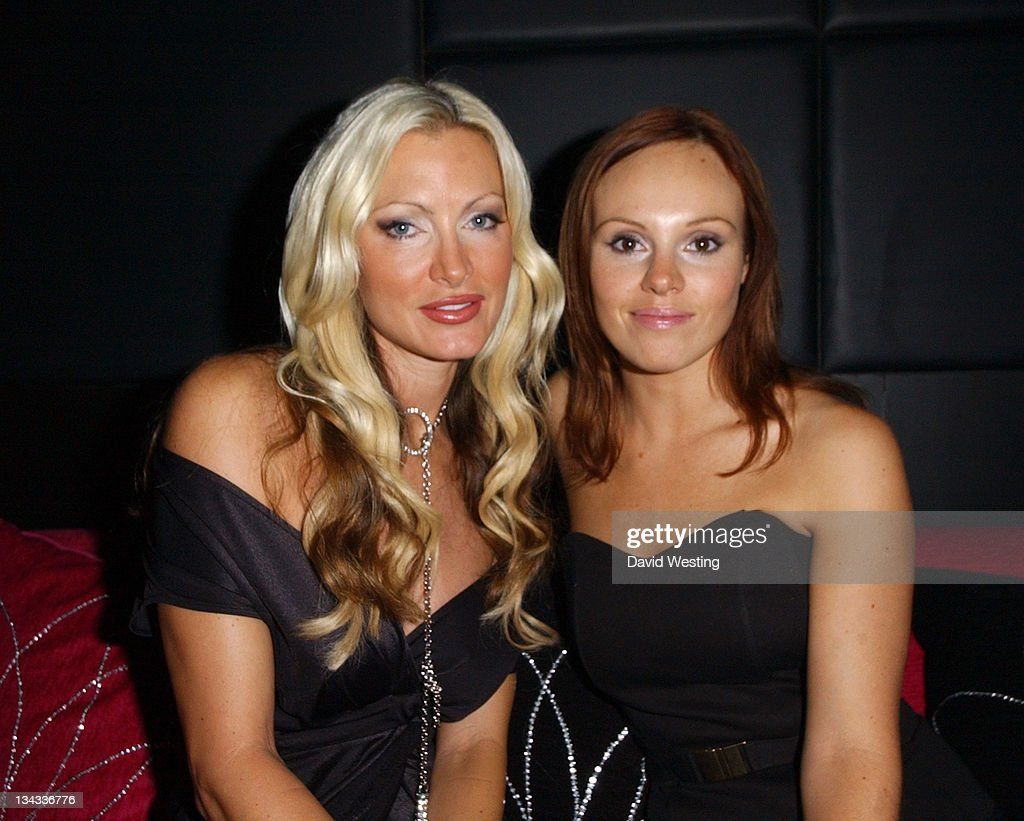 Caprice Bourret and Michelle Dewberry during Tamarai Launch Party at Drury Lane in London Great Britain