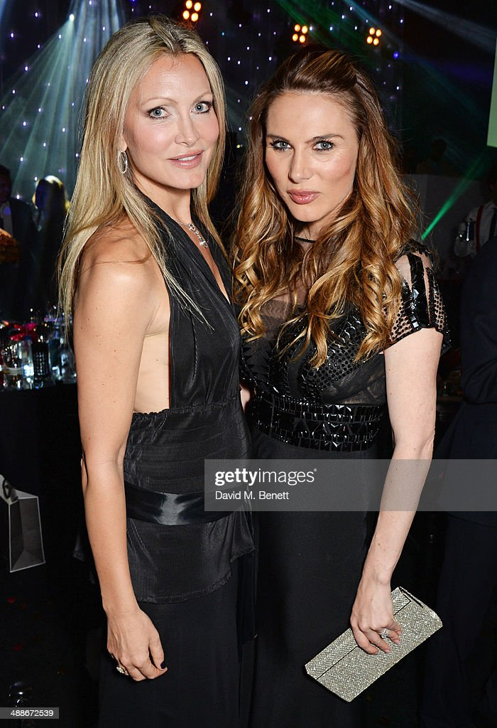 Caprice Bourret and Tonya Meli attend as Gabrielle's Angel Foundation for Cancer Research UK hosts its third annual 'Gabrielle's Gala' fundraiser at...