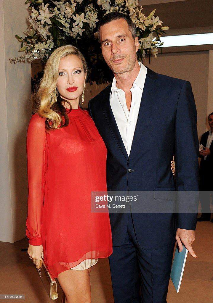 Caprice Bourret and Ty Comfort attend The Masterpiece Midsummer Party in aid of Marie Curie Cancer Care hosted by Heather Kerzner at The Royal...