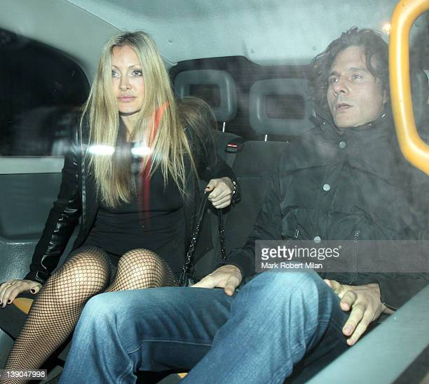 Caprice Bourret at Aura night club on February 15 2012 in London England