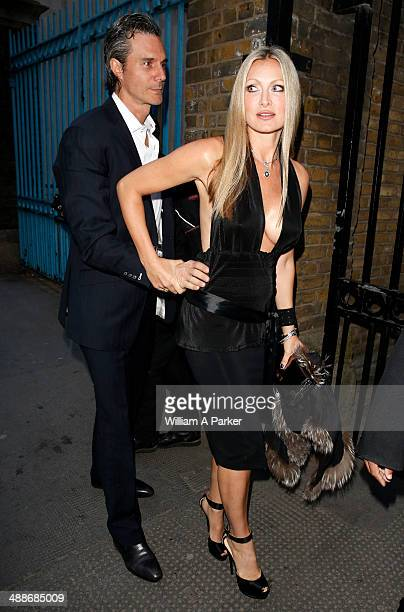 Caprice Bourret attending Gabrielle's Angel Foundation For Cancer Research Hosts Third on May 7 2014 in London England