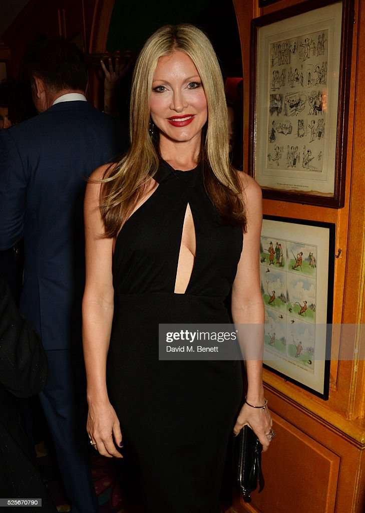 Caprice Bourret attends a private dinner hosted by Fawaz Gruosi, founder of de Grisogono, at Annabels on April 28, 2016 in London, England.