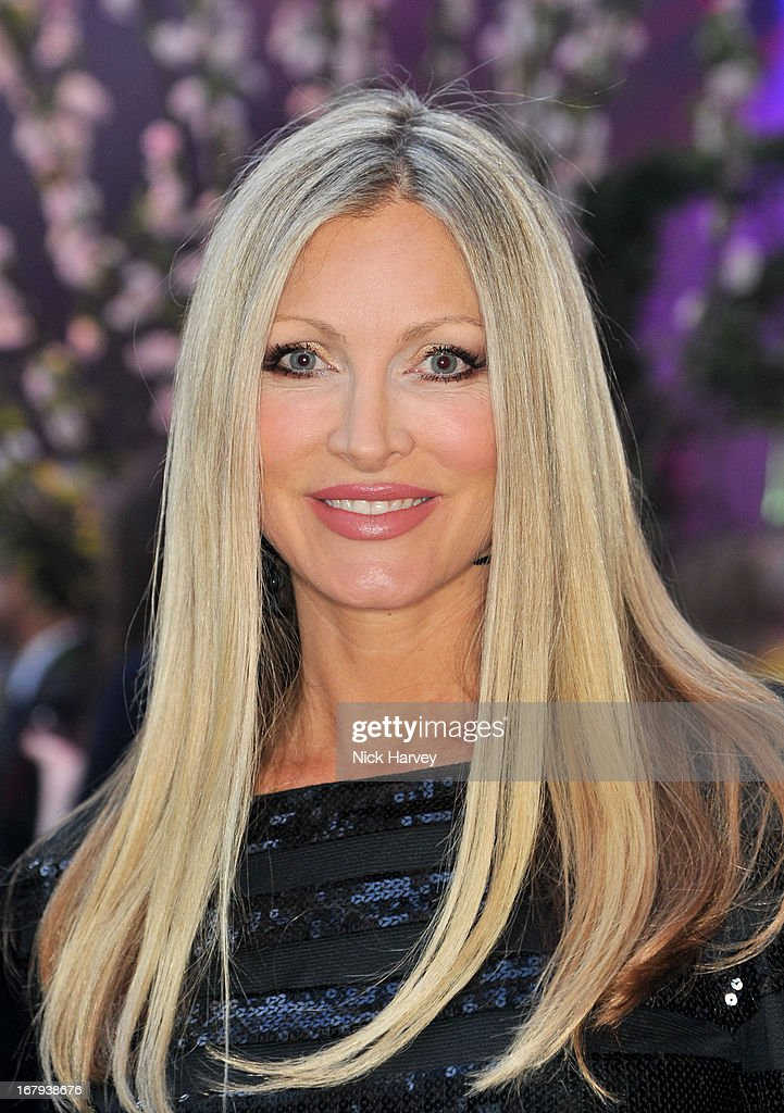 Caprice Bourret attends annual fundraiser in aid of Gabrielle's Angel Foundation for Cancer Research at Battersea Power station on May 2, 2013 in London, England.