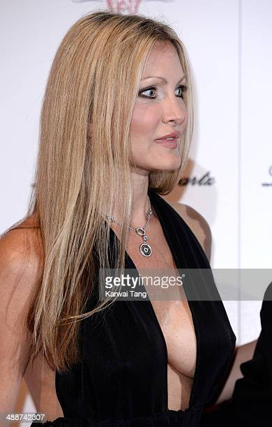 Caprice Bourret attends Gabrielle's Gala at Old Billingsgate Market on May 7 2014 in London England Gabrielle's Gala is an annual fundraiser in aid...