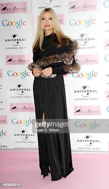 Caprice Bourret attends the Amy Winehouse Foundation Ball at Dorchester Hotel on November 20 2013 in London England