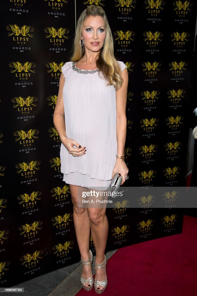 Caprice Bourret attends the Lipsy VIP Fashion Awards 2013 at Dstrkt on May 29, 2013 in London, England.