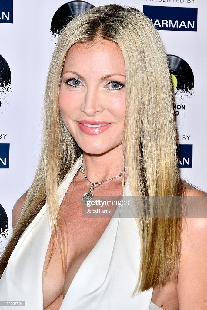 Caprice Bourret attends the Los Angeles Premiere of 'The Distortion of Sound' at The GRAMMY Museum on July 10 2014 in Los Angeles California