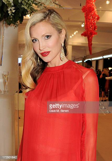 Caprice Bourret attends The Masterpiece Midsummer Party in aid of Marie Curie Cancer Care hosted by Heather Kerzner at The Royal Hospital Chelsea on...