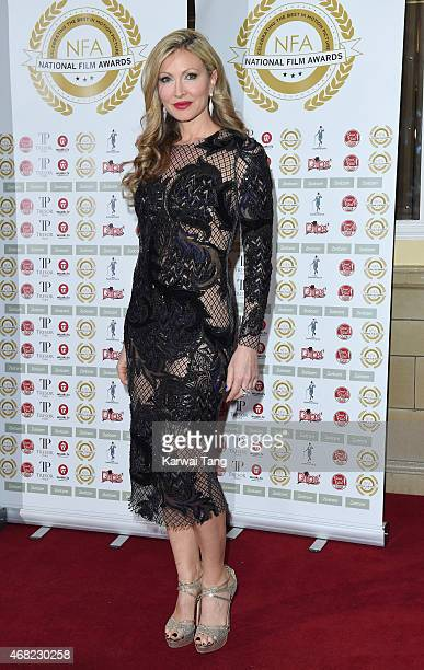 Caprice Bourret attends the National Film Awards at Porchester Hall on March 31 2015 in London England