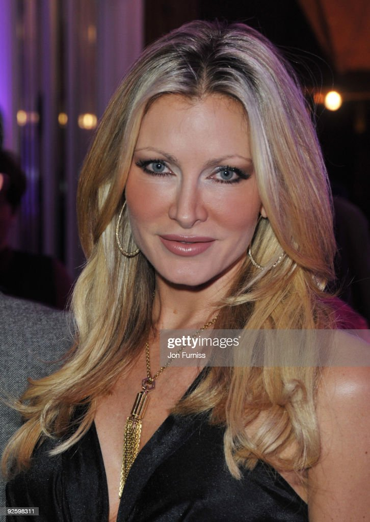 Caprice Bourret attends the PINKTOBER Women Of Rock Charity Concert at the Royal Albert Hall on November 1 2009 in London England