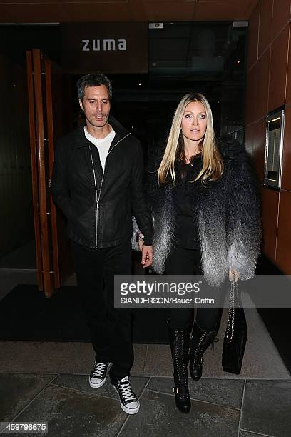 Caprice Bourret is seen with her boyfriend Ty Comfort on March 01 2013 in London United Kingdom