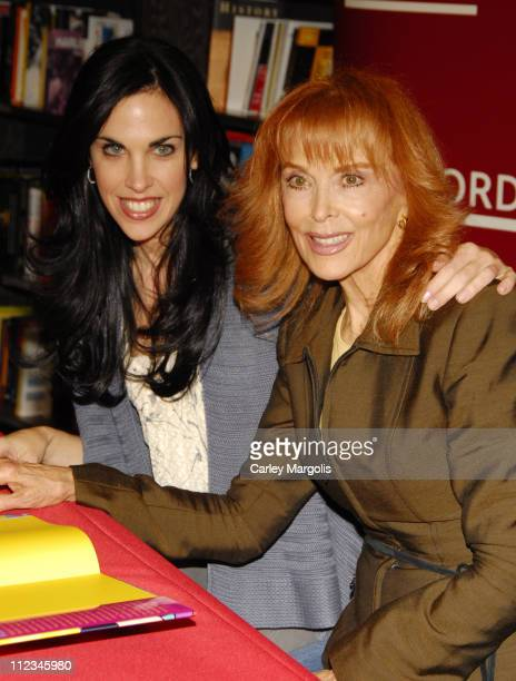 Caprice Crane and mother Tina Louise during Tina Louise Signs Copies of Her New Book 'When I Grow Up' March 15 2007 at Borders in New York City New...