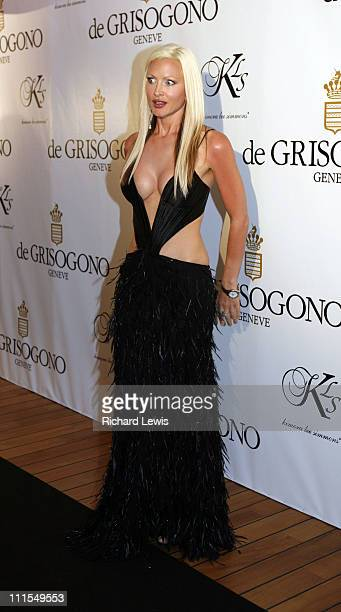 Caprice during 2007 Cannes Film Festival de Grisogono Party at Hotel du Cap in Cannes France