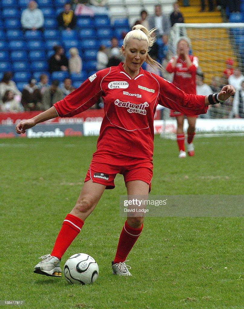 Caprice during Soccer Six at Birmingham City Football Club - May 14, 2006 at St Andrews Stadium in Birmingham, Great Britain.