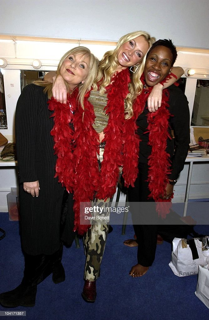 Caprice, Helen Lederer & Gina Yashere, Caprice's Last Few Days In The Vagina Monologues At The Arts Theatre In London.