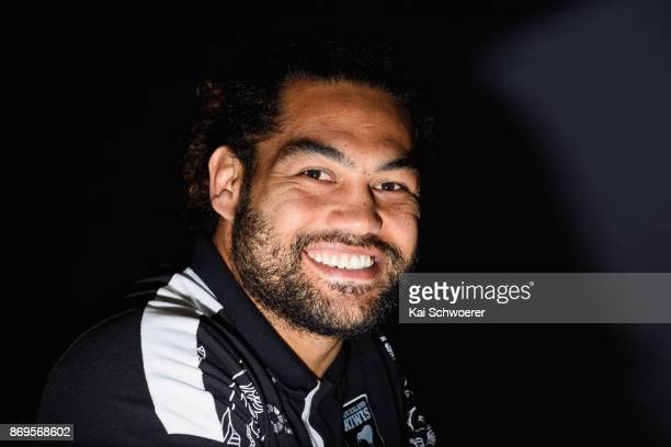 Captain Adam Blair of the Kiwis looks on during a New Zealand Kiwis Rugby League World Cup press conference on November 3 2017 in Christchurch New...